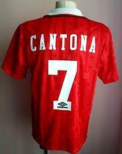 Manchester United 1992 - 1994 Home rare football Umbro shirt #7 Cantona