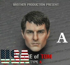 """1/6 Scale Tom Cruise Male Head Sculpt A For 12"""" Hot Toys PHICEN Figure ❶USA❶"""
