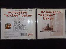 CD McHOUSTON MICKEY BAKER / MISSISSIPPI DELTA BLUES / RARE POCHETTE /