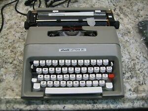 Olivetti Lettera 35l #354-1 Typewriter New Old Stock