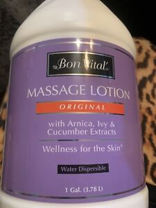 Bon Vital' Original Massage Lotion for a Versatile Massage Foundation