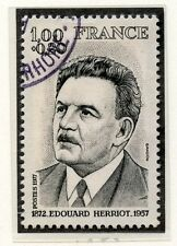 STAMP / TIMBRE FRANCE OBLITERE N° 1953 EDOUARD HERRIOT