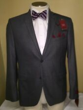 MENS NWT ALFANI GRAY 2 BUTTON DOUBLE VENT SPORT COAT SZ 40R