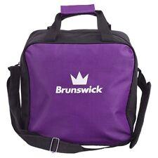 Brunswick TZone Single Purple 1 Ball Bowling Bag