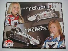 Brittany & Courtney Force - 2006 Brand Source Super Comp Dragster Nhra Handout
