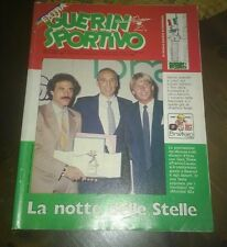 """Libri/Riviste/Giornali""""GUERIN SPORTIVO ANNO LXX N°29 LUGLIO 1982""""Italia"""