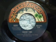 """KISS 45 RPM 7"""" - Kissin' Time UNPLAYED RE-RELEASE 2012"""