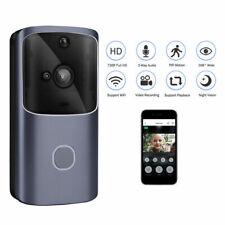 Wireless WiFi Video Doorbell Smart Door Intercom Security 720P Camera BellY Jd