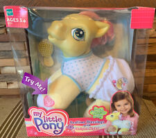 Hasbro My Little Pony Bedtime Blessings with Bright Night Praying Plush 2004 NEW