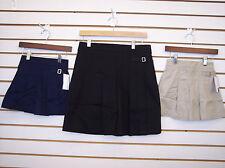 Girls Navy & Khaki Uniform Skorts Size 5 - 16 1/2