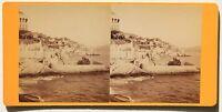 Marsiglia Francia Stereo Vintage Albumina Ca 1870