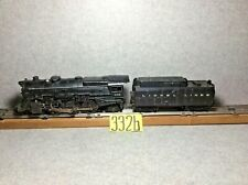 LIONEL # 675 LOCOMOTIVE 2-6-2 WITH 234 W WHISTLE TENDER  ( WORKING CONDITION)