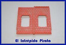PLAYMOBIL - Sección de Tejado Casas y Castillo Medieval Caballeros 3666 Museum