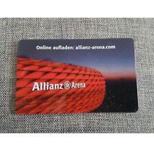 Neu **** Allianz Arena Card * von 2019/2020 * für Sammler ohne Guthaben
