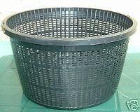 Superfish Lily basket water plant pot medium for fish aquarium, round 22cm