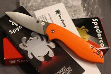 Spyderco Brad Southard Positron S35VN Orange G-10 C195GPOR Exclusive NEW