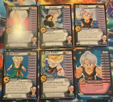 Dragon Ball Z Tcg Ccg Kid Trunks Personality Set 1-4 + HT Limited Majin Buu Saga