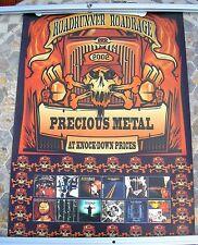 ROADRUNNER Slipknot Nickelback Sepultura 2002 promo poster 28 x 20  original