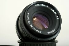 COSINON - S  50mm f2,0 - PENTAX K mount lens made in Japan by Cosina