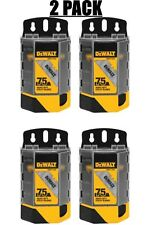 LOT OF (2)  DEWALT Heavy-Duty Blades for Utility Knives (2-Pack) total of 4