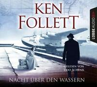 NACHT ÜBER DEN WASSERN - FOLLETT,KEN  5 CD NEU