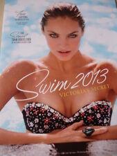 Victoria's Secret SWIM 2013 Candice Swanepoel sexy glossy cover vol.1 no.1 HOT