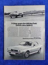 Toyota Celica 1600 GT-bombardeados publicitarias advertisement 1977 __ (076