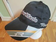 TAYLOR MADE TMAX GEAR BLACK BASEBALL CAP TERYLENE GOLF HAT MEN OS QUICK SHIPPER