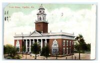 Postcard Court House, Opelika, Alabama AL 1910 D33