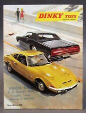 1969 1st Edition French  DINKY Diecast Toys CATALOG