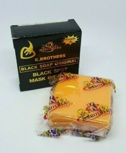 50 g K.Brothers Black Spot Mask On Face Soap Original Natural World Shipping