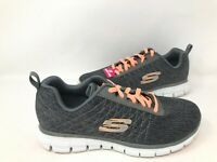 NEW! Skechers Women's Lace Up Memory Foam Athletic Shoes Gry/Crl #12512H 176D kk