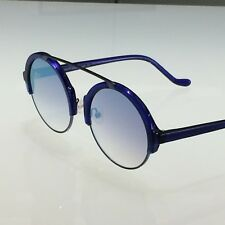 Les Pièces Uniques Milano Sunglasses ROMEO col.03 Unisex - Blue - Mirror Lenses