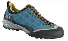Scarpa Zen Pro Men Legendary Approach Shoe Lake Blue - Mustard