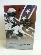 Sideshow Collectibles BROTHERHOOD OF Brazos CS Infantería Oficial U. S. CIVIL