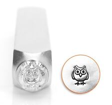 Hootie Owl Bird Jewelry Metal Stamp Punch Jewellery Making Tools Stamping 6mm