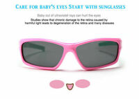 Kids Polarized Sunglasses Cycling Outdoor Fashion Sporty Girls Boys UV400 I370