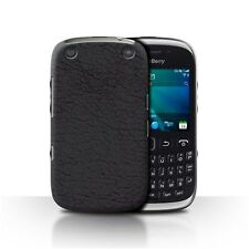 STUFF4 Back Case/Cover/Skin for Blackberry Curve 9320/Leather Patch Effect