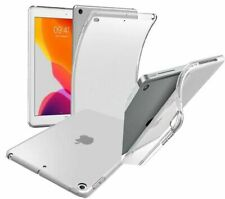 """iPad 10.2"""" 7th Generation (2019) Slim Soft Light  Case Cover With Tempered Glass"""
