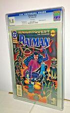 Batman #504, CGC 9.8, White Pages