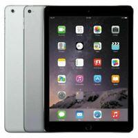 iPad Air 1st Gen Wi-Fi + Cellular -16GB 32GB 64GB 128GB - Space Gray - Silver