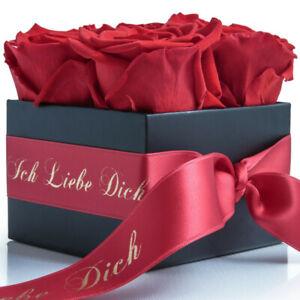 infinity Rosenbox konserviert Ich liebe Dich Geschenk Frauen Blumenbox Flowerbox