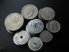 Pièces de monnaie de l'Europe en nickel de Grèce