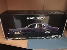 1/18 MINICHAMPS BENTLEY ARNAGE T - BLUE - BRAND NEW