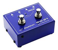 Guitar A/B Amp Switch + Y Splitter Signal Router