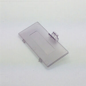 Transparent Clear Purple Battery Cover GBP For Nintendo Game Boy Pocket