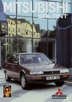 Mitsubishi Galant Prospekt 1985 8/85 Autoprospekt brochure broschyr folleto Auto