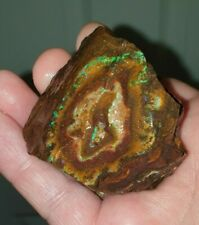 Boulder Opal 3047 carats 8 Lovely Pieces on Ironstone