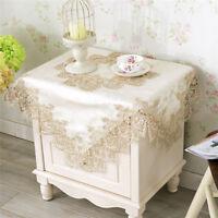 Restaurant Lace Table Cover Tea Bedside Cloth Overlay Decor Tablecloth L