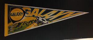Los Angeles Galaxy VTG 1996 Felt Pennant Full Size Soccer Ship Logo MLS